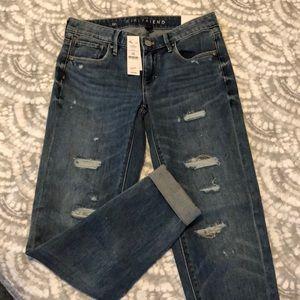 "New WHBM ""Girlfriend "" jeans"